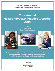 Your Annual Health Advocacy Practice Checklist
